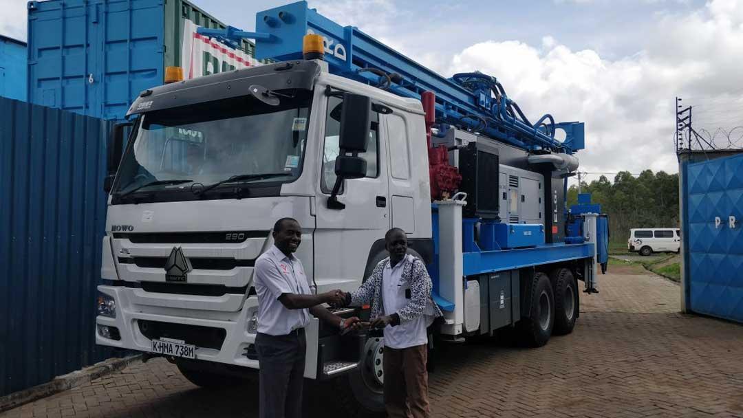 PRD Rigs Kenya 1st Max Drill