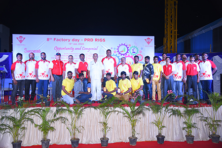 8th Factory day celebration